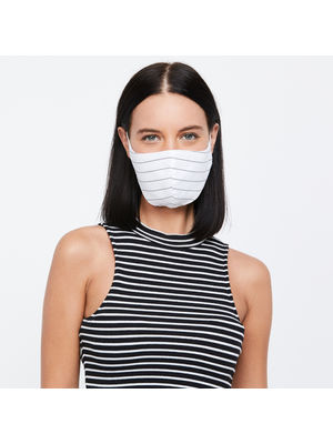 100% Cotton Resuable Adult Mask- Set of 3- Graphic