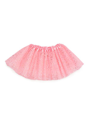 Girls Pink Set of Hairband & Skirt