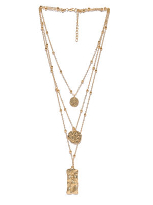 Women Gold-Toned Layered Alloy Necklace