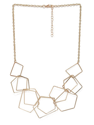 Gold-Toned Minimal Necklace