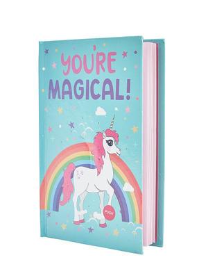 Mint Green Magical Unicorn Note Book