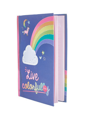Navy Live Colors Rainbow Note Book