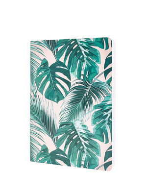 Pink Tropical Print Note Book