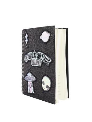 Black Galaxy Note Book