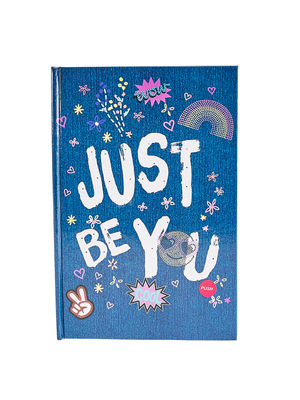 """Black""""Just Be You"""" Note Book"""