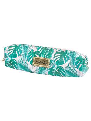 Tropical Print Pencil Case