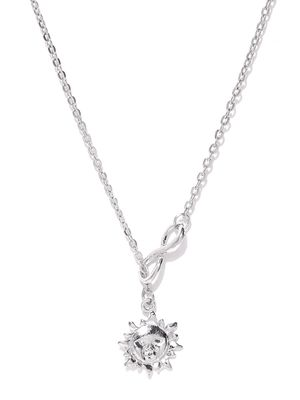 Silver Princess Necklace For Women
