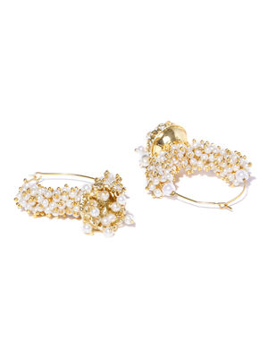 Pearlied Agglomeration Earrings