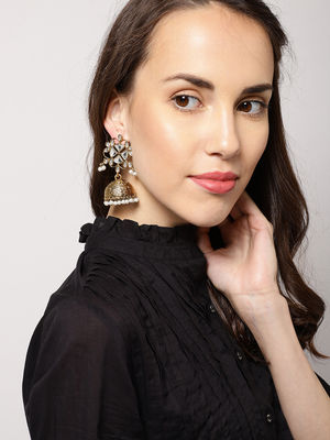 Flowery Rotunda Earrings