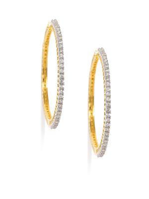 Oceane Gold Hoop Earrings