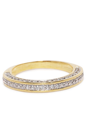 Gold-Toned Band Ring