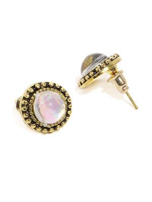 Women Set Of 6 Gold-Toned Earrings