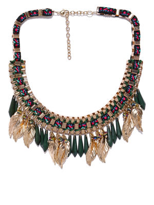 Multicoloured Metal Necklace