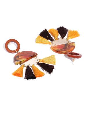 Multicoloured Classic Drop Earrings