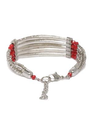 Maroon Bar Bracelet