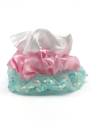 Toniq Kids  Its time for magic set of 3 Pastel Color hair Scrunchy