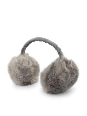 Toniq Grey Plush Ear Muffs
