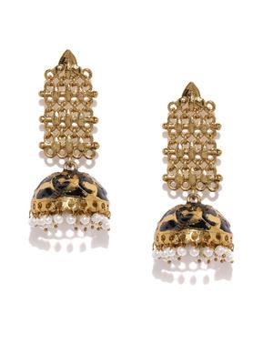 Delicate Dome Jhumka Earrings