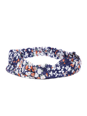 Muliticolor Floral  Printed Head Band For Women