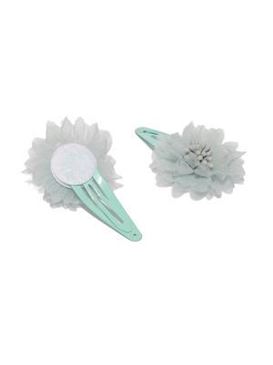 Set of 4 Embellished Tic Tac Hair Clips