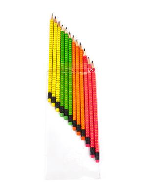 Set Of 12 Multicolor Pencil