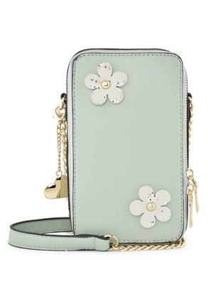 Bloom Floral Mint Sling Bag