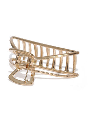 Gold Crab Claw Clip