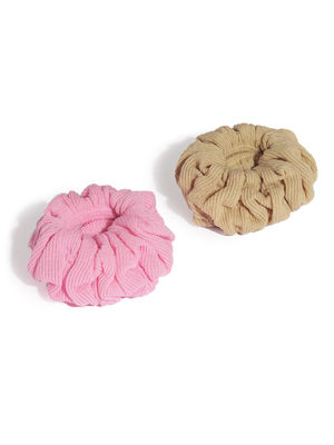 Pink & Beige Basic Rubber Band