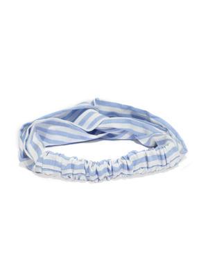 Blue Strip Hair Band