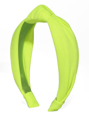 Neon Green Knot Hair Band