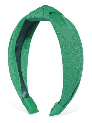 Dark Green Knot Hair Band