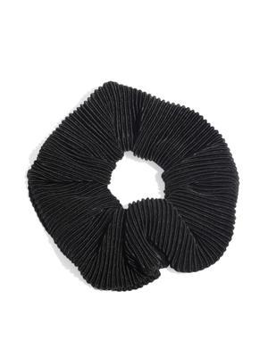 Beige & Black Shimmery Scruncies