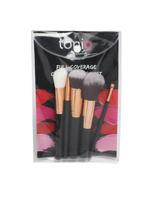 Full coverage Contour Set of 5 Makeup Brushes