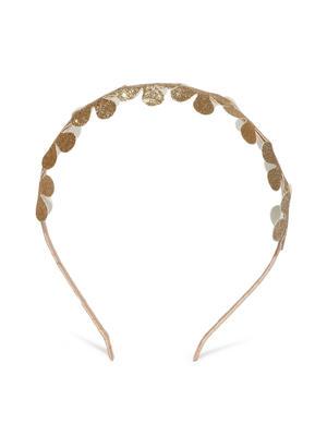 Gold-Toned Embellished Hairband