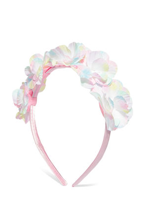 Pink & White Floral Hairband