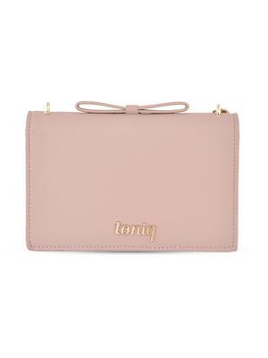 Funny Face Pink Sling Bag