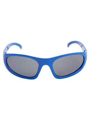 Kids Blue Round Shape Sunglasses