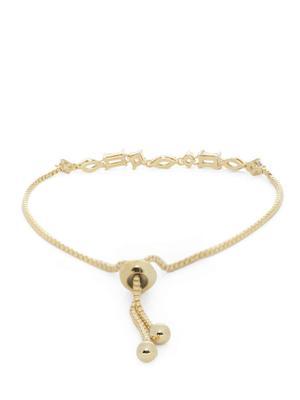 Gold-Toned Charm Bracelet