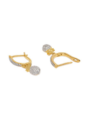 Gold-Toned & Silver-Toned Contemporary Hoop Earrings