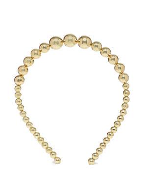 Girls Gold-Toned Embellished Hairband