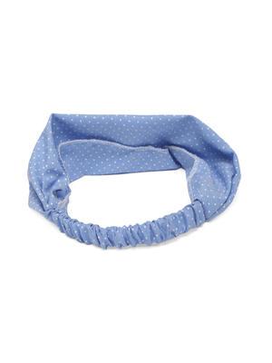 Women Blue Printed Elasticated Hairband