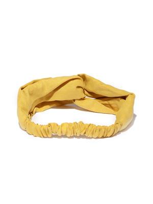 Mustard Yellow Solid Hairband
