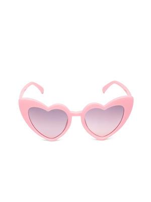 Girls Heat-Shaped Sunglasses