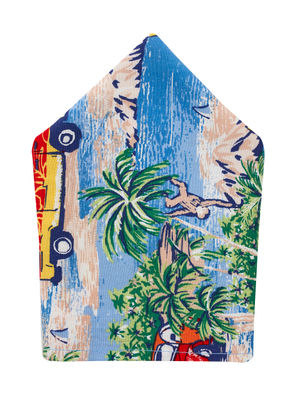 Brocode Classic Mens  Tropicana Pocket Square