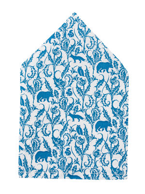 Brocode Classic Mens Jodpur  Print Pocket Square