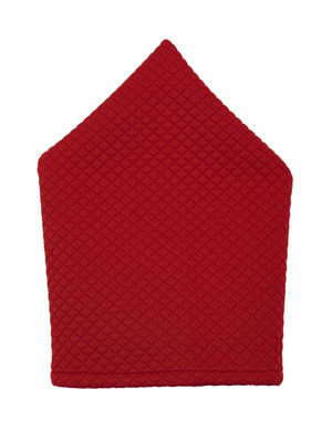 Brocode Classic Mens Premium Red Jacquard Wedding Collection Pocket Square