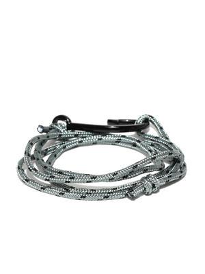 Men Blue Beaded Bracelet