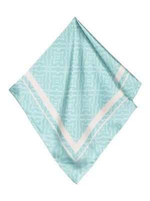 ToniQ MultiPurpose Mint Green Stylish Women Satin Square Scarf