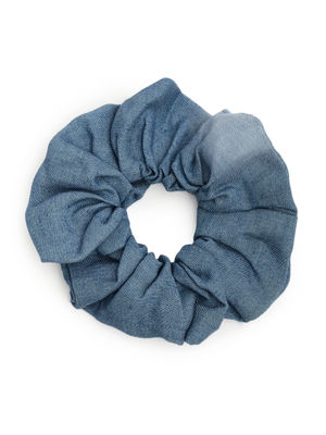 ToniQ Set of 2 Denim Scrunchie For Women
