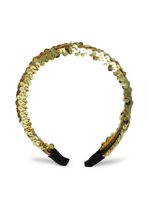 Kids Gold Sparkle Hair Band For Girls.